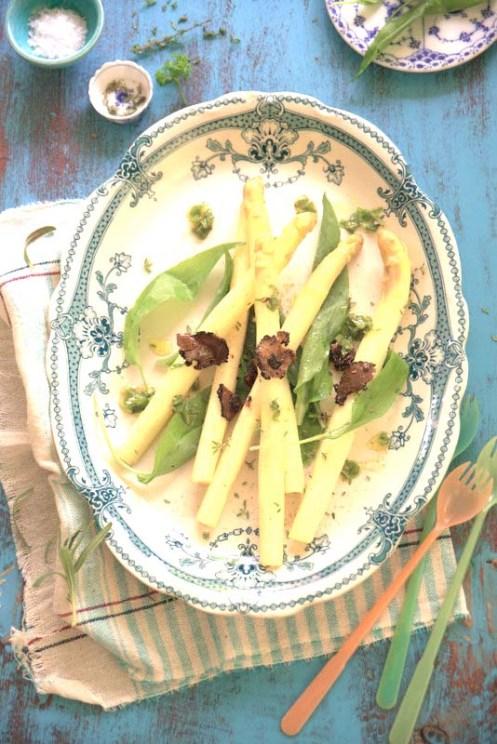 asparges m trøffel