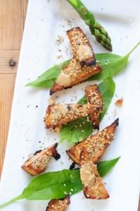 glaseret tofu