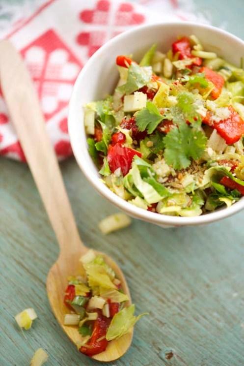 grillet peber salat 1