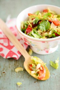 grillet peber salat