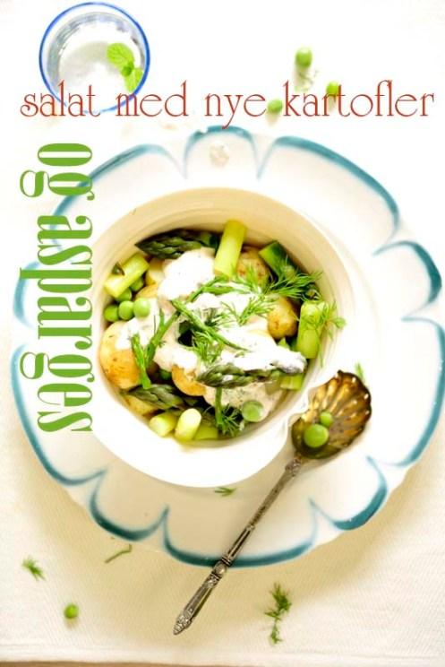 kartoffel aspargessalat tekst