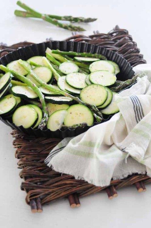 asparges og squash