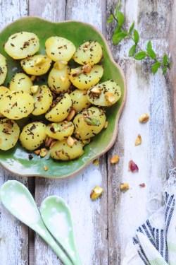 krydrede kartofler